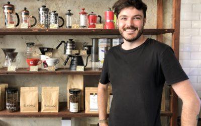 Alexis, votre nouveau barista