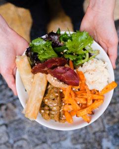 Cafeincup coffee shop bordeaux buddha bowl de novembre légumes oubliés